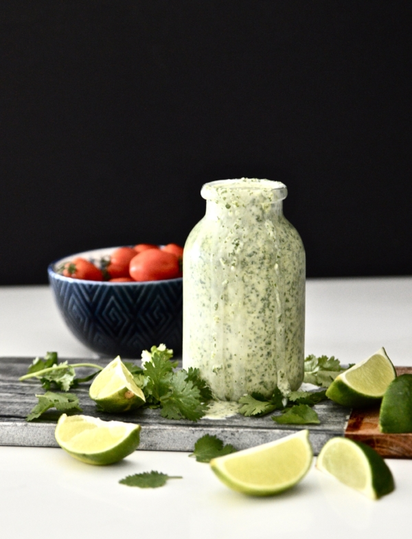 Whole 30 Cilantro Lime Dressing (Paleo, Vegan, GAPS, SCD, Gluten Free, Dairy Free)