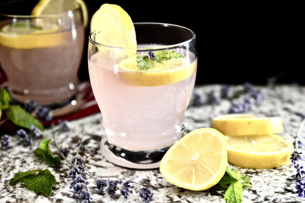 Lavender Mint Lemonade (Paleo, SCD, GAPS, Vegan, AIP)