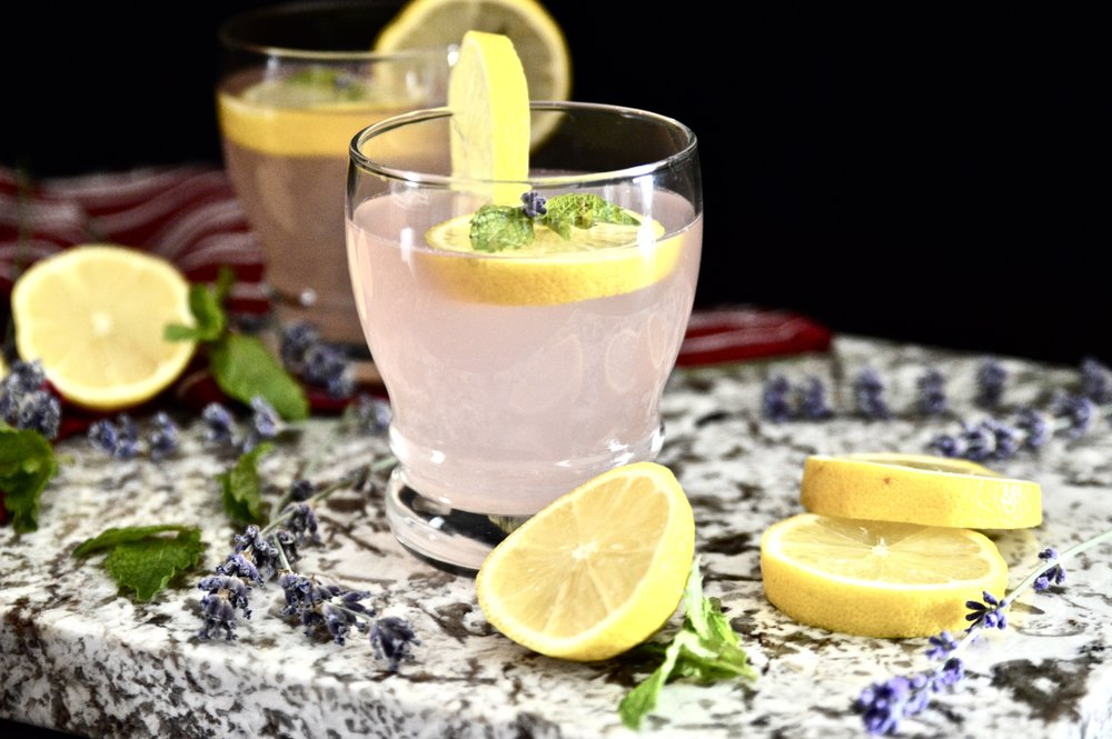 Lavender Mint Lemonade (Paleo, Vegan, GAPS, SCD, AIP)