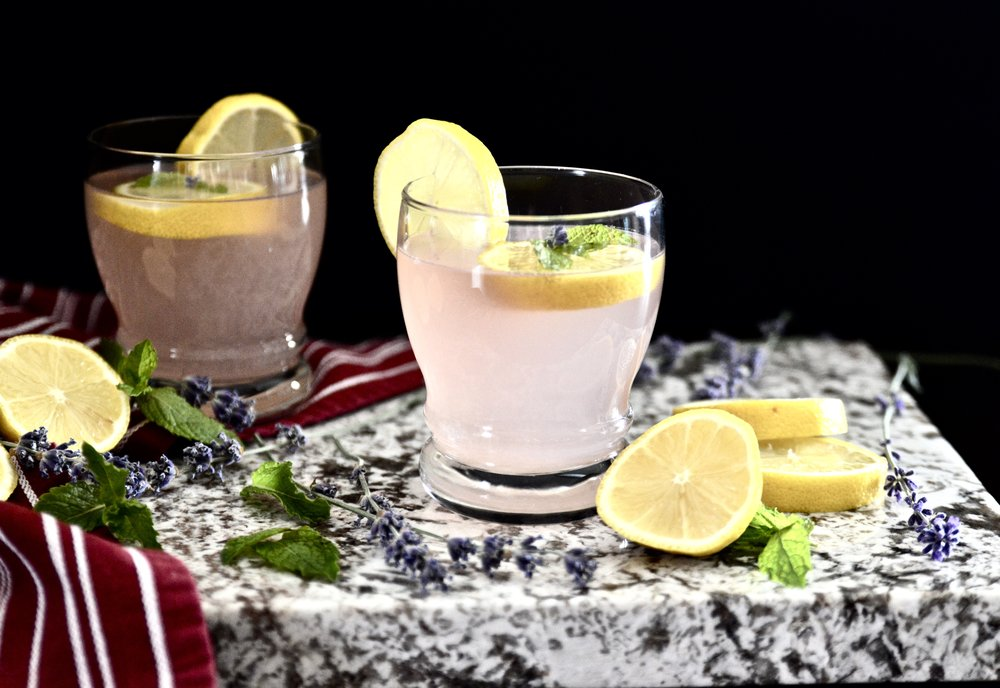 Lavender Mint Lemonade (Paleo, Vegan, SCD, GAPS, AIP)