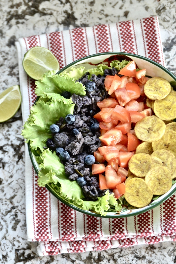 Whole 30 Beef and Blueberry Burrito Bowls (Paleo, AIP, SCD, GAPS)