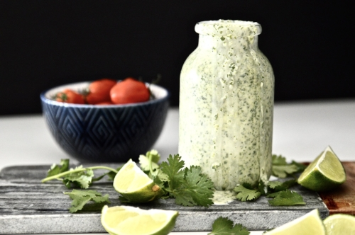 Whole 30 Cilantro Lime Dressing (Paleo, Vegan, AIP, GAPS, SCD)