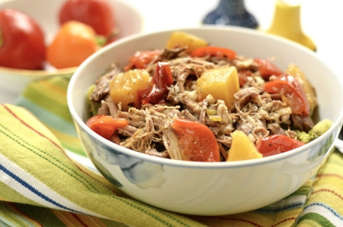 Tropical Slow Cooker Pork Roast
