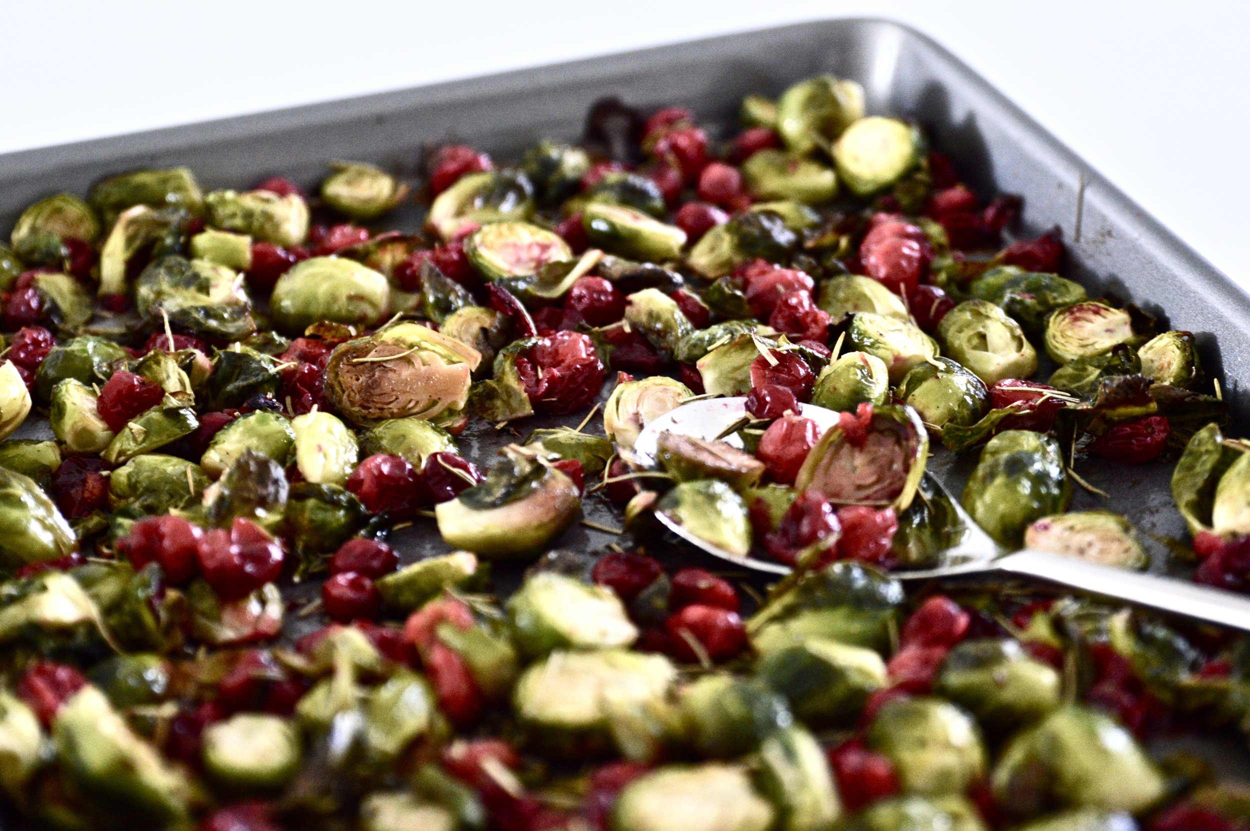 Do you love Brussels sprouts? I hope so! These Maple Cranberry Brussels Sprouts are a sweet yet tangy twist on a classic vegetable recipe. This Maple Cranberry Brussels Sprouts recipe makes the perfect addition to your holiday menu and is a dish that your guests are going to love. What's even better is that this Maple Cranberry Brussels Sprouts recipe is paleo, vegan and AIP friendly! #paleo #vegan #AIP