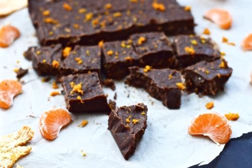 Paleo Chocolate Orange Fudge