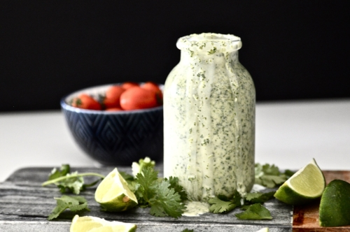 Whole30 Cilantro Lime Dressing (Paleo, AIP, Vegan, GAPS, SCD)