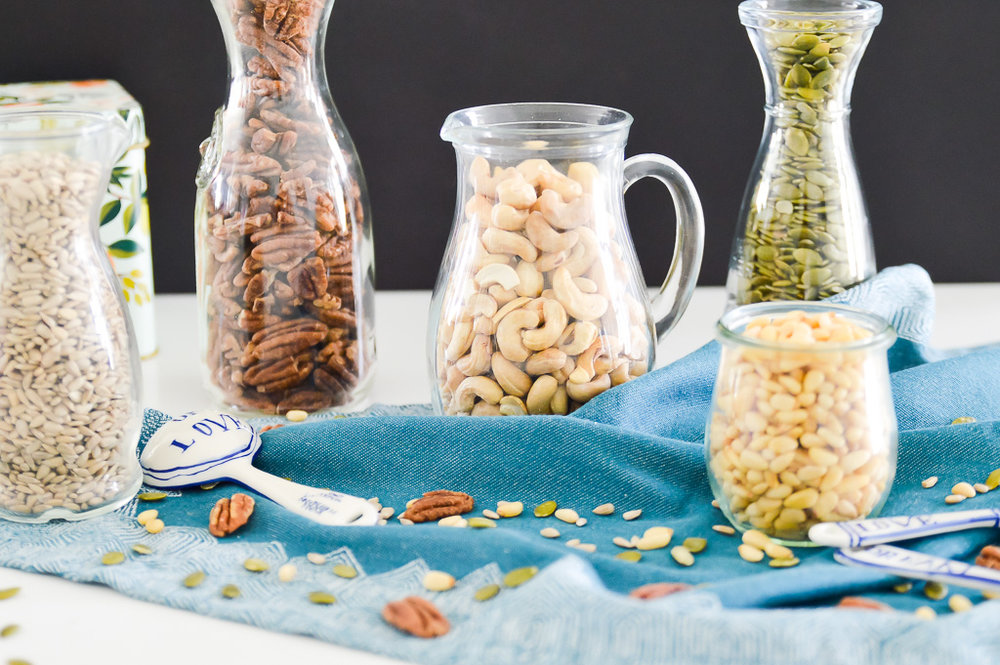 Do you know why you should soak and dehydrate your nuts and seeds before you eat them? If not, you need to read this post. In this post I explain why you should soak and dehydrate your nuts and seeds (and how to do it) to not only improve digestion, but also improve your absorption and utilization of vitamins and minerals.  #paleo #aip #guthealth #digestion