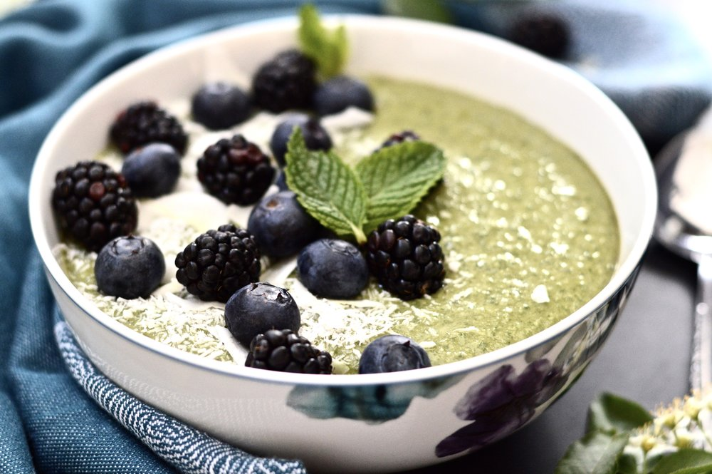 Get Your Greens Mint Smoothie Bowl