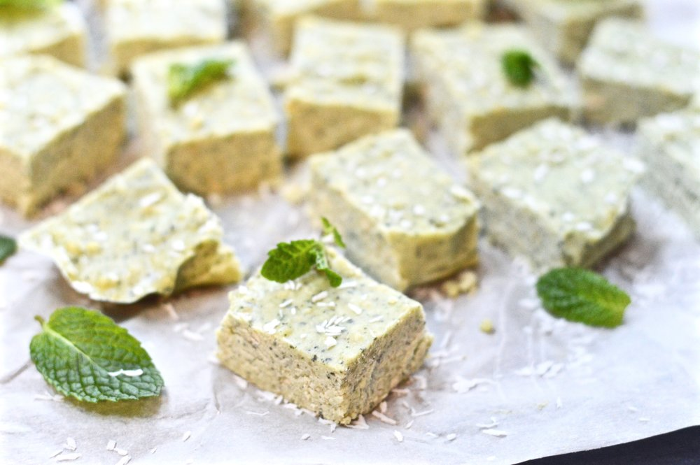 Coconut Mint Fudge (Paleo, Vegan, GAPS, SCD)