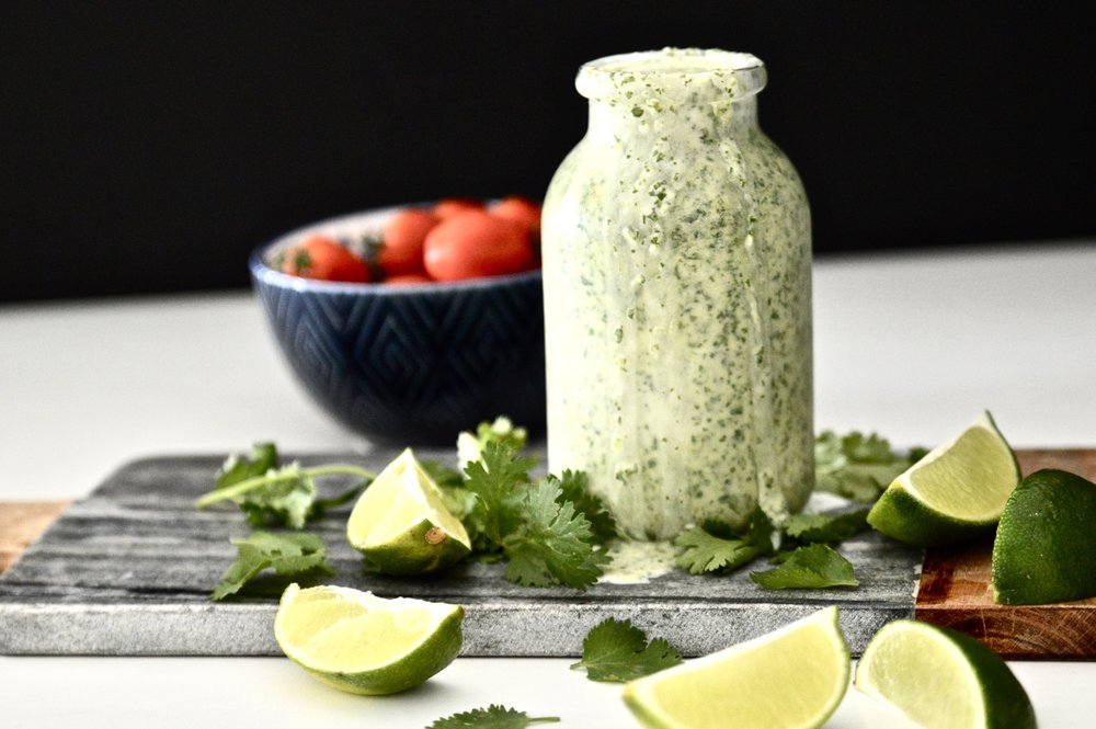 Whole30 Cilantro Lime Dressing