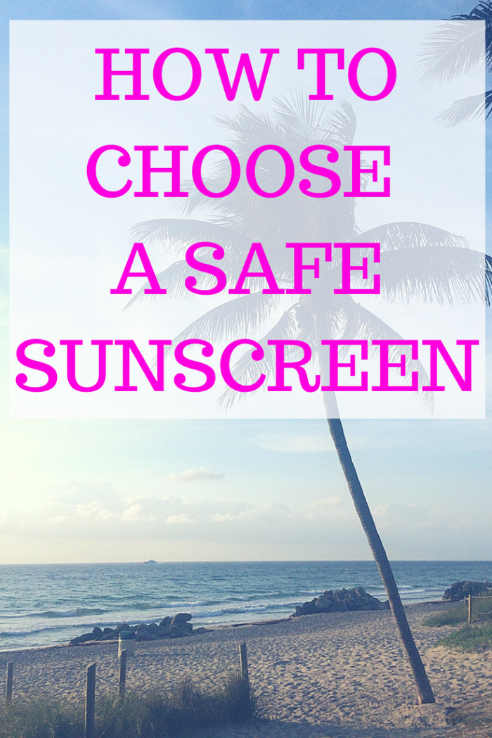 Do you know how to choose a safe sunscreen? When I have been talking with my friends, family and patients recently I've realized that most people have no idea how to choose a safe sunscreen. So I decided it was time to make a post just about that: how to choose a safe sunscreen. #healthinformation #sunscreen #nontoxic