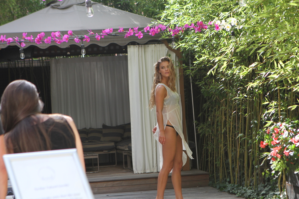 Adore Me Behind The Scenes with Nina Agdal 17