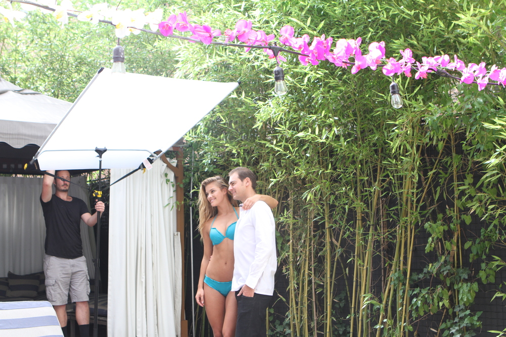 Adore Me Behind the Scenes with Nina Agdal 21