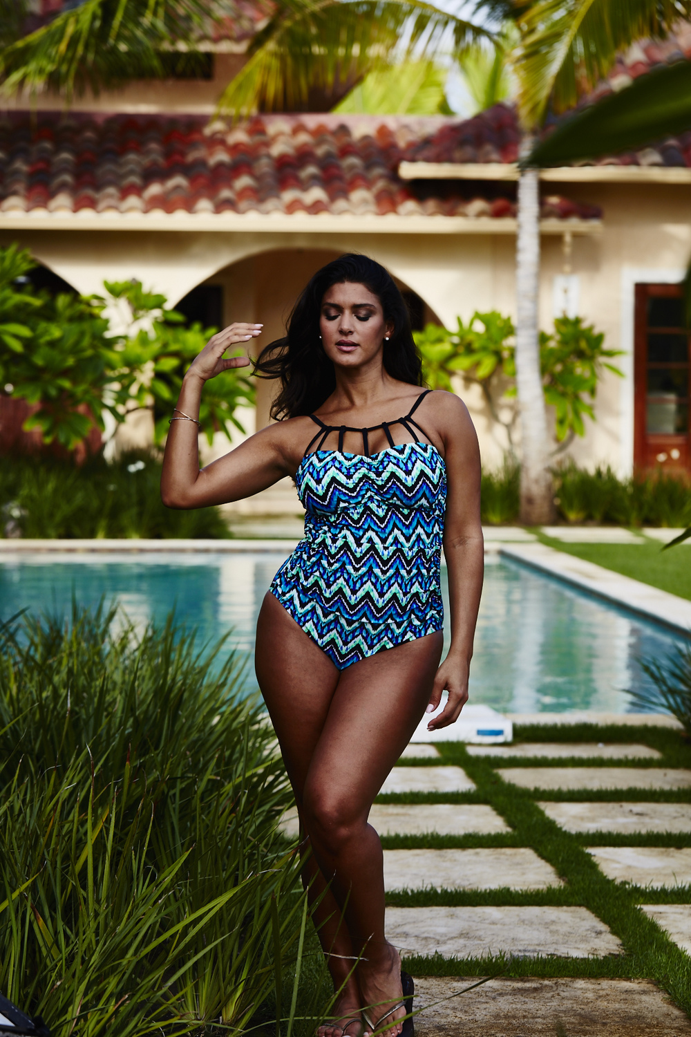 Adore Me Behind The Scenes Plus Size Swim 60