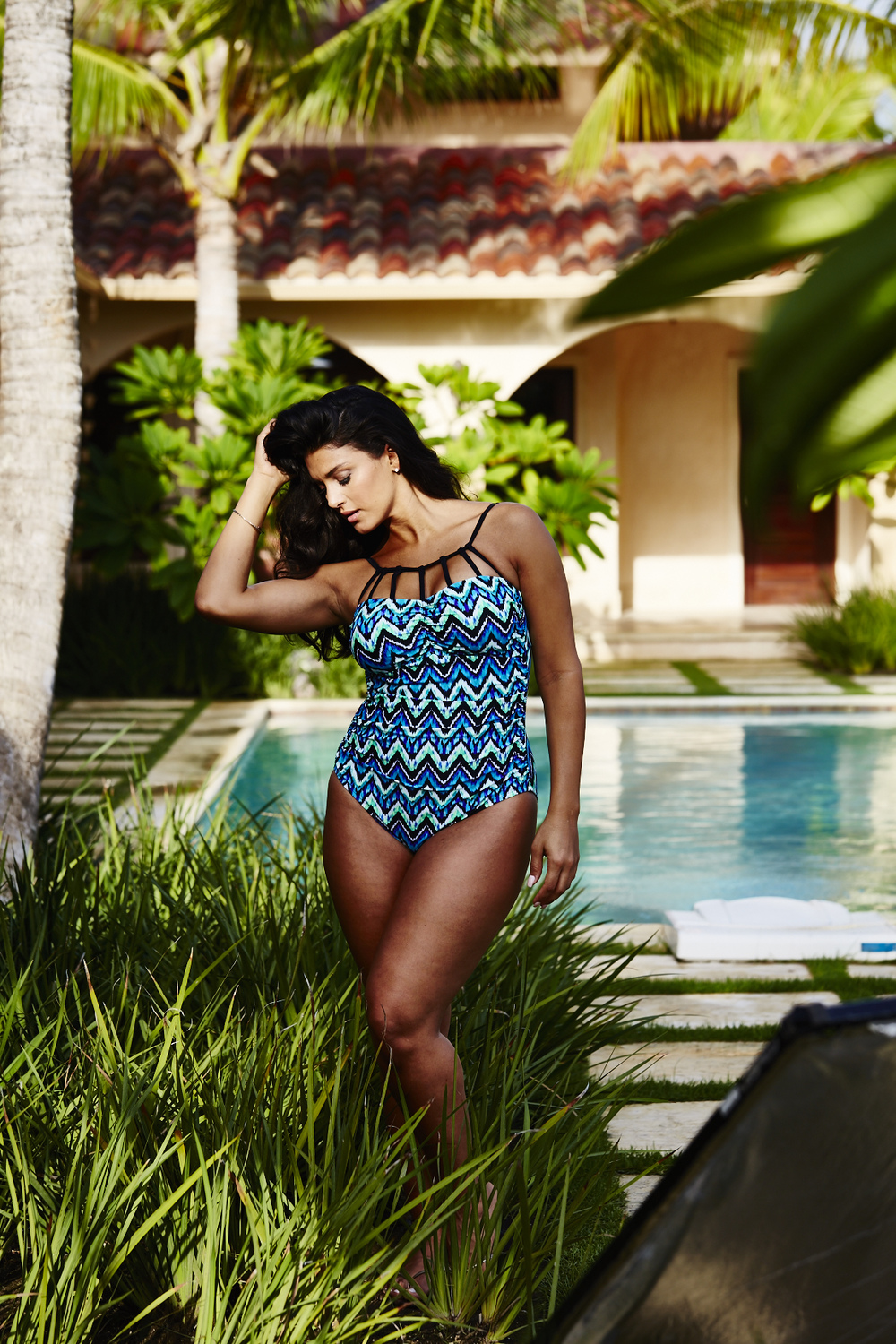 Adore Me Behind The Scenes Plus Size Swim 58