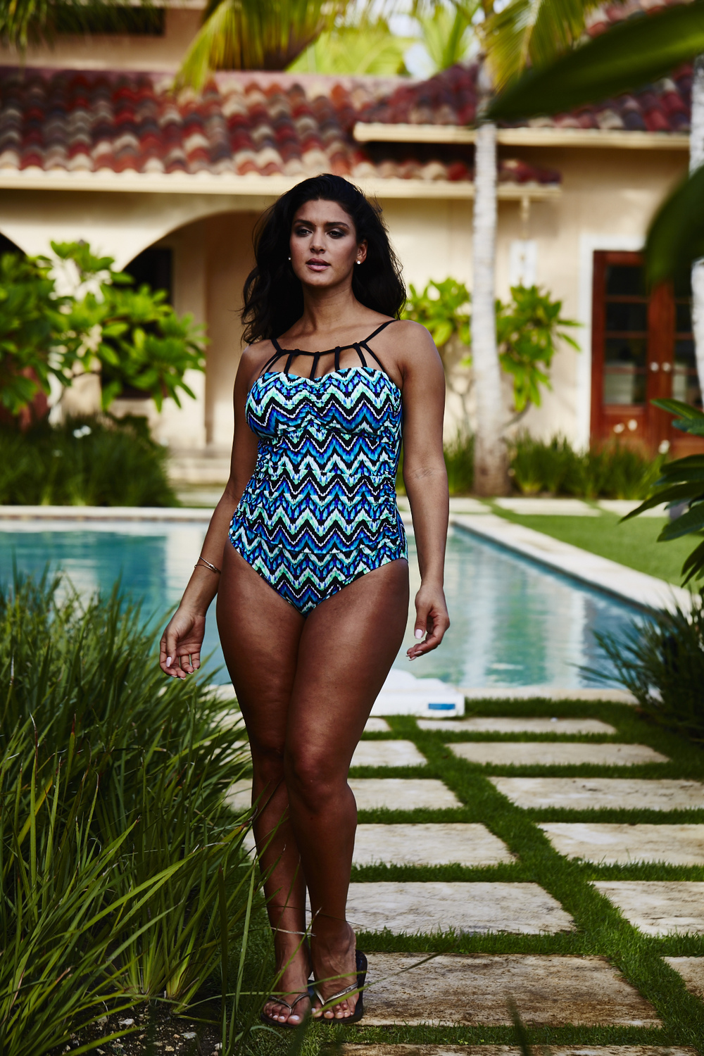 Adore Me Behind The Scenes Plus Size Swim 61
