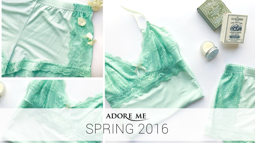 Adore Me Spring 2016 Collection