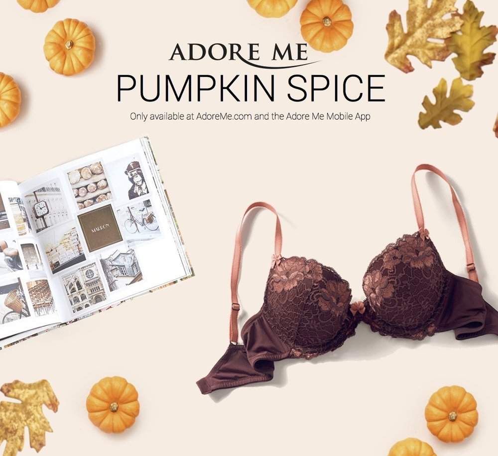 Adore Me Trend: Pumpkin Spice