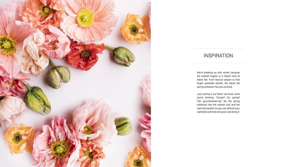 Adore Me Spring 2017 Inspiration