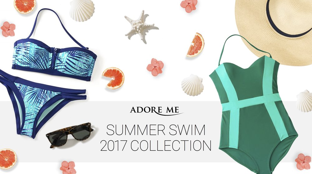 Adore Me Summer Swim 2017