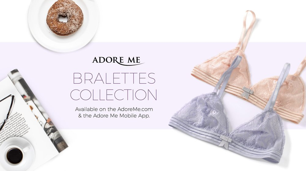 Adore Me Bralettes Collection