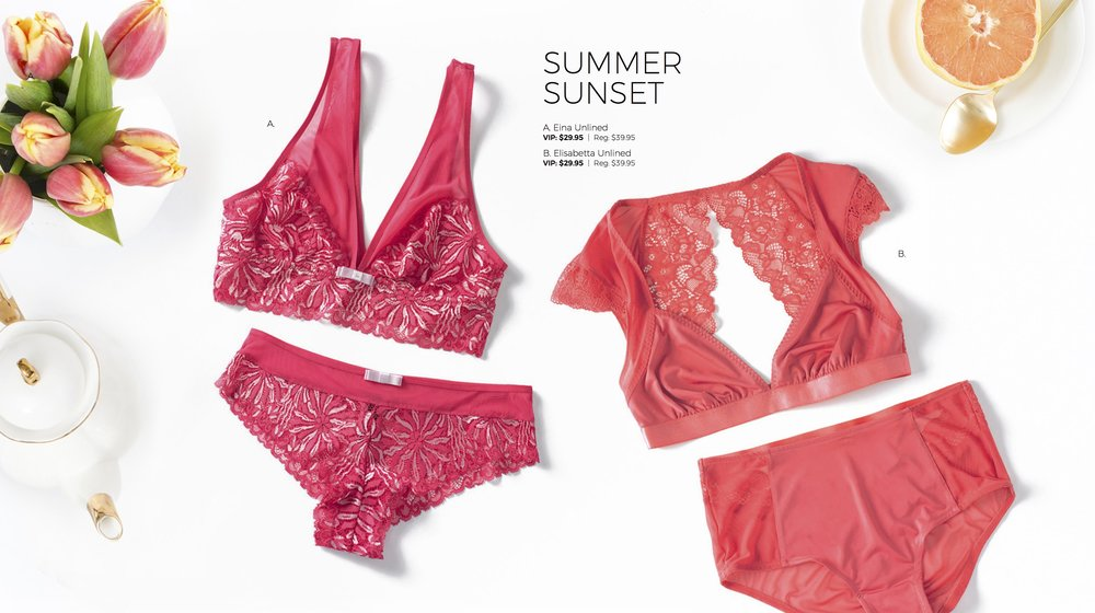 Adore Me Bralettes Collection Sunset