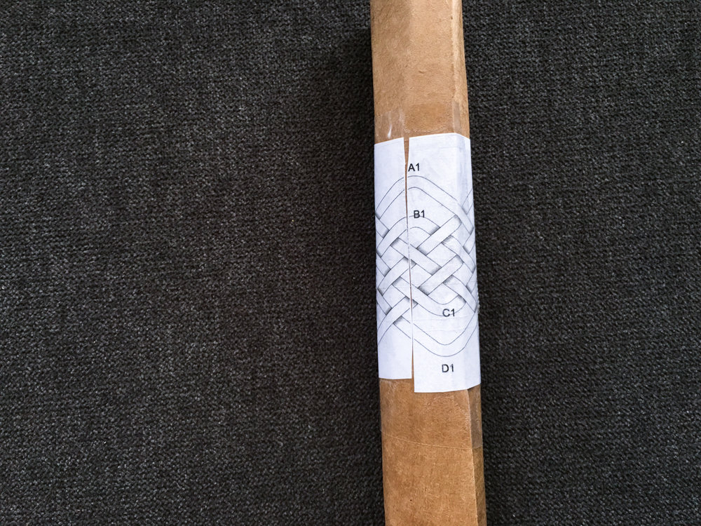 DIY Cardboard Mandrel