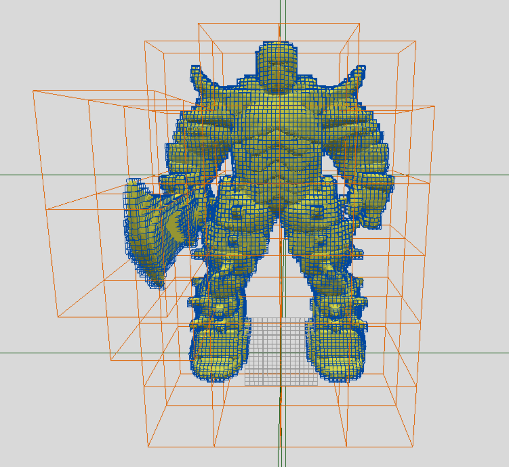 Voxelized Iron Golem