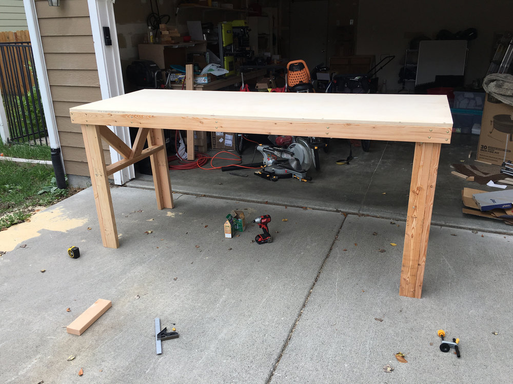 Done with the table.