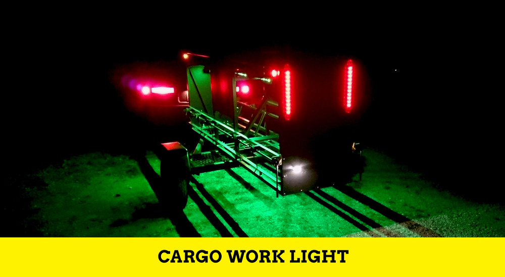 Huckwagons Mountain Bike Shuttle Trailer Cargo work lightCargo work light cargo work light