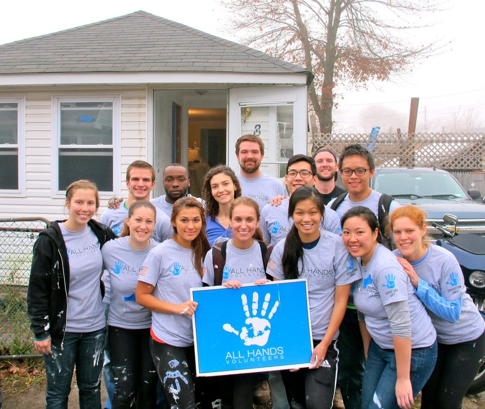 Spend a few days of your winter break on a service trip helping communities near and far.  -  All Hands Volunteers