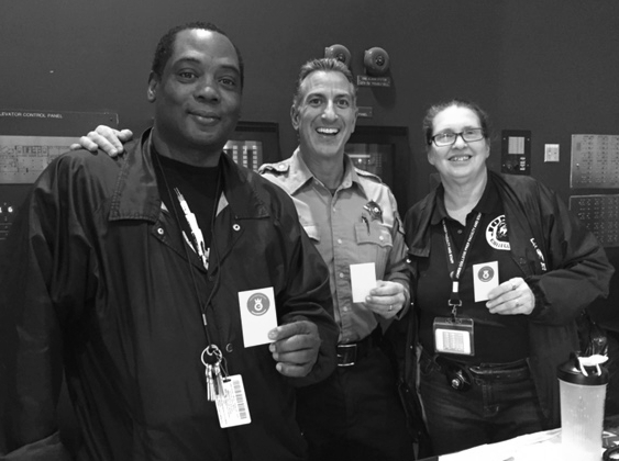 RAK Week 2017 was a great opportunity to give a #NobleHourHigh5 to the outstanding security staff at Jones College Prep High School in Chicago. Thank you for watching out for our students & greeting parents with a smile each day!