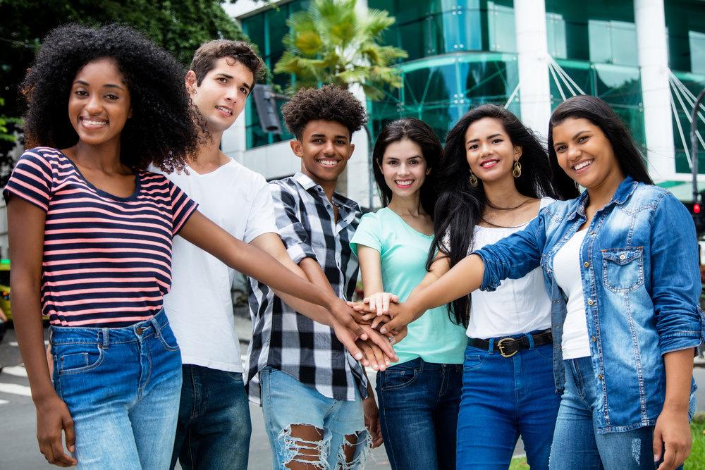 student-volunteers