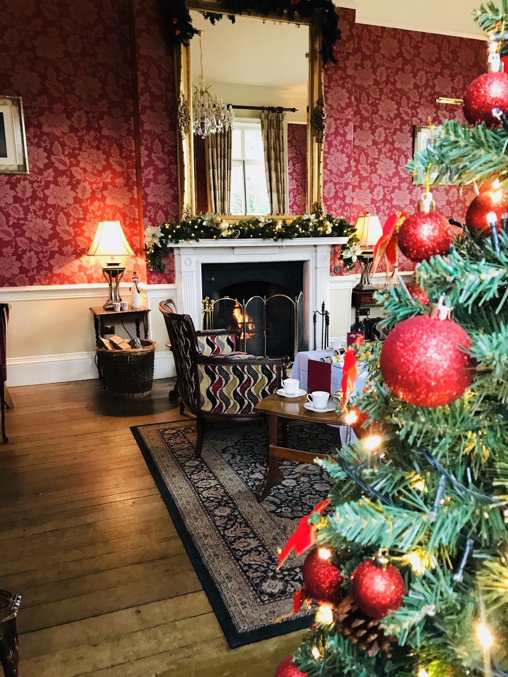 Festive afternoon tea... - It's Afternoon tea...with some festive charm! Relax with friends and family in our warm and cosy lounges this Christmas, sit back and indulge yourself in selection of traditional sandwiches, home made cakes & pastries and warm scones with jam & clotted cream.