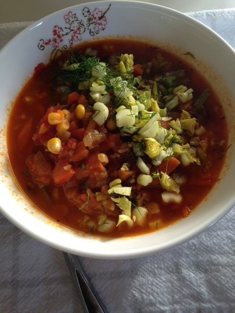 Italian Harvest Vegetable Soup