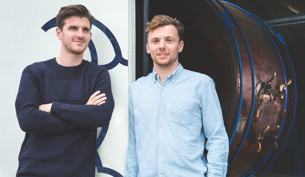 Billy Tannery founders Rory (left) and Jack (right)