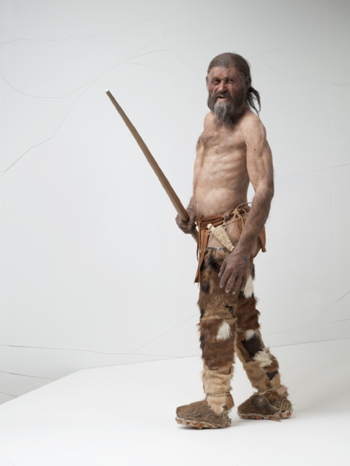 The Iceman by Alfons & Adrie Kennis © South Tyrol Museum of Archaeology/Ochsenreiter
