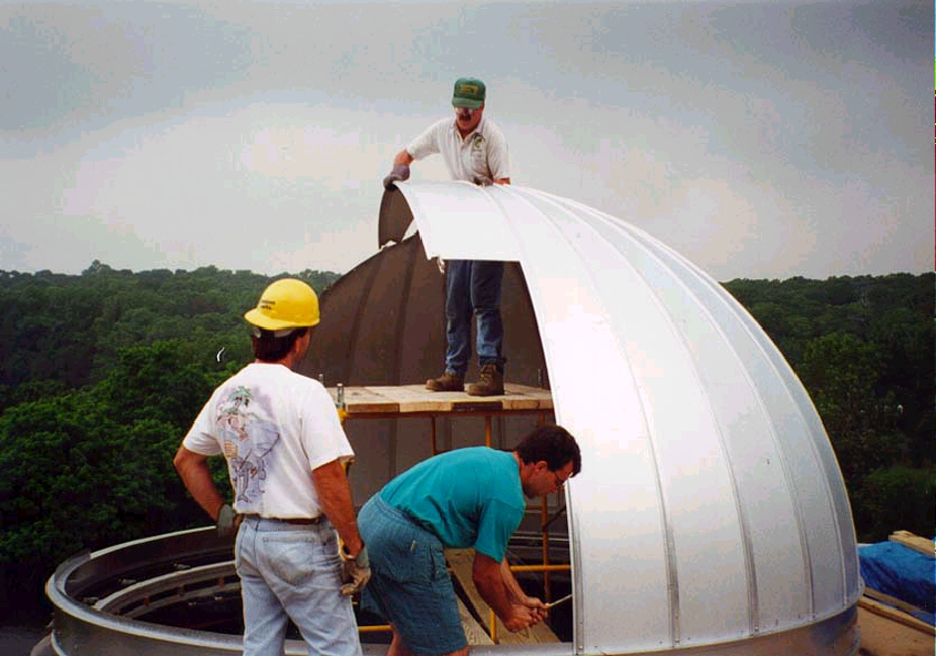 North Dome Being build
