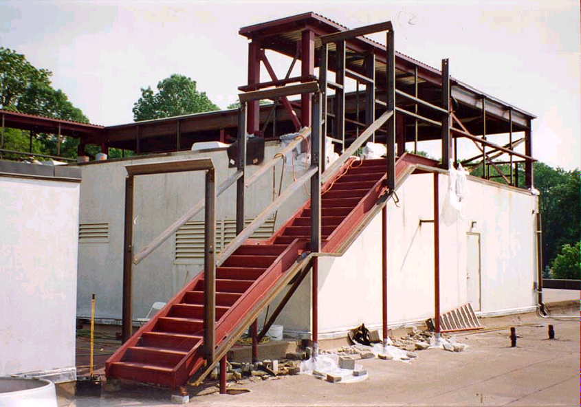 North Stairwell Construction