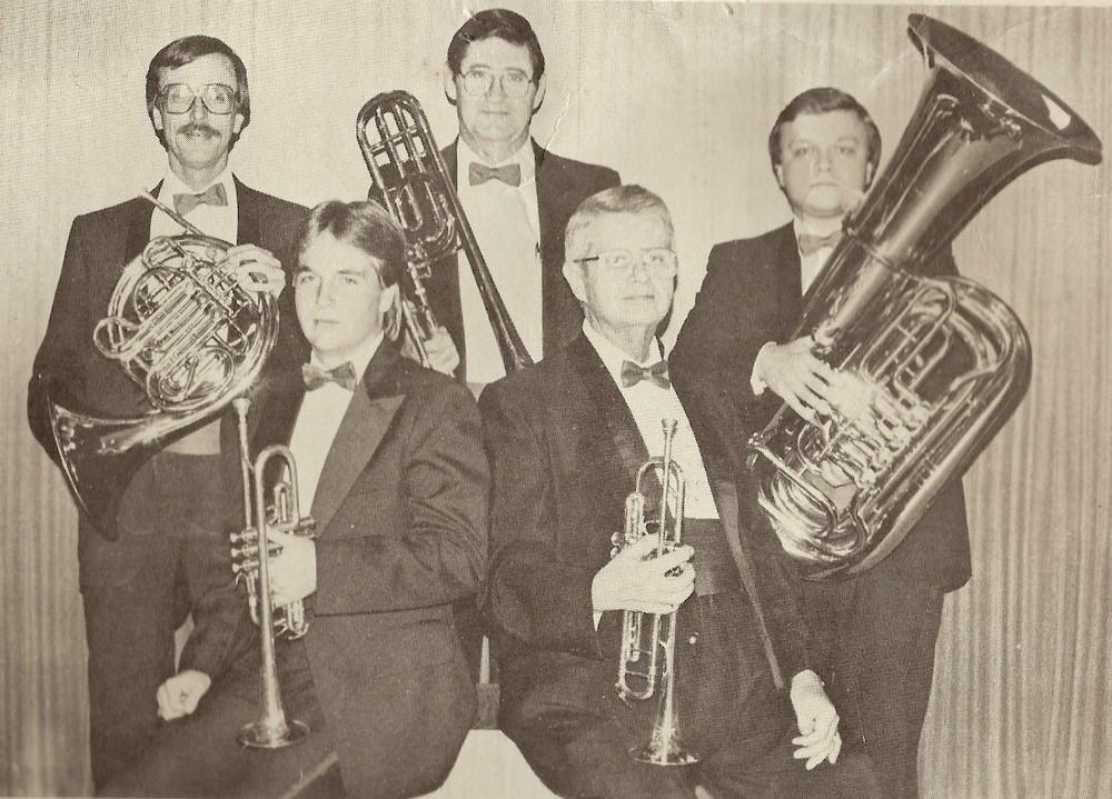 Jim Woolly, Doug Lockard, Wes Branstine, Don Kramer, Chris Kornegay