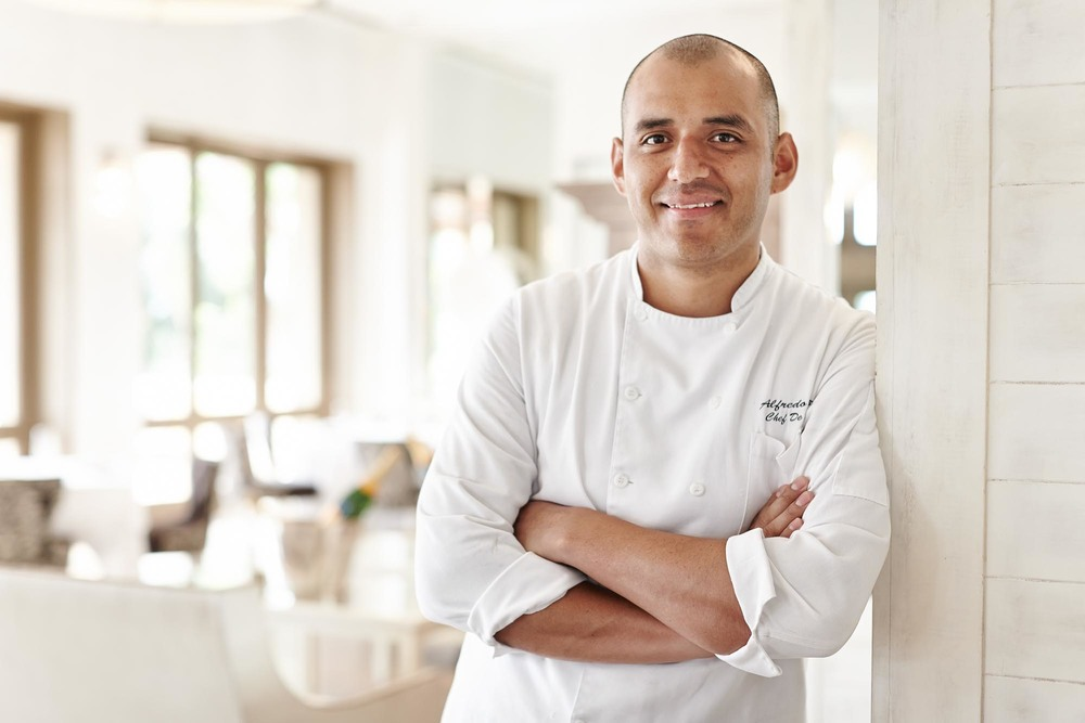 Saint Regis Punta Mita, Chef at Carolina Restaurant