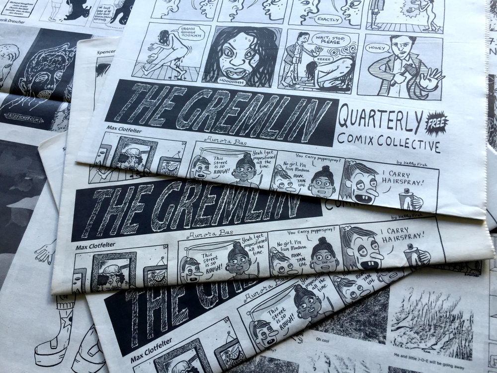 The Gremlin: Quaterly Comix Collective by Teppei Ando