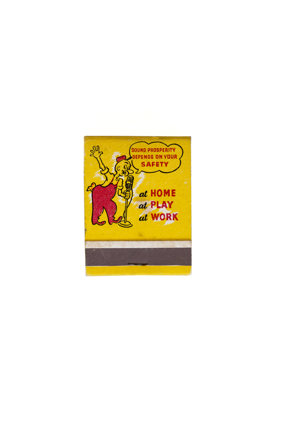38. Ray matchbook