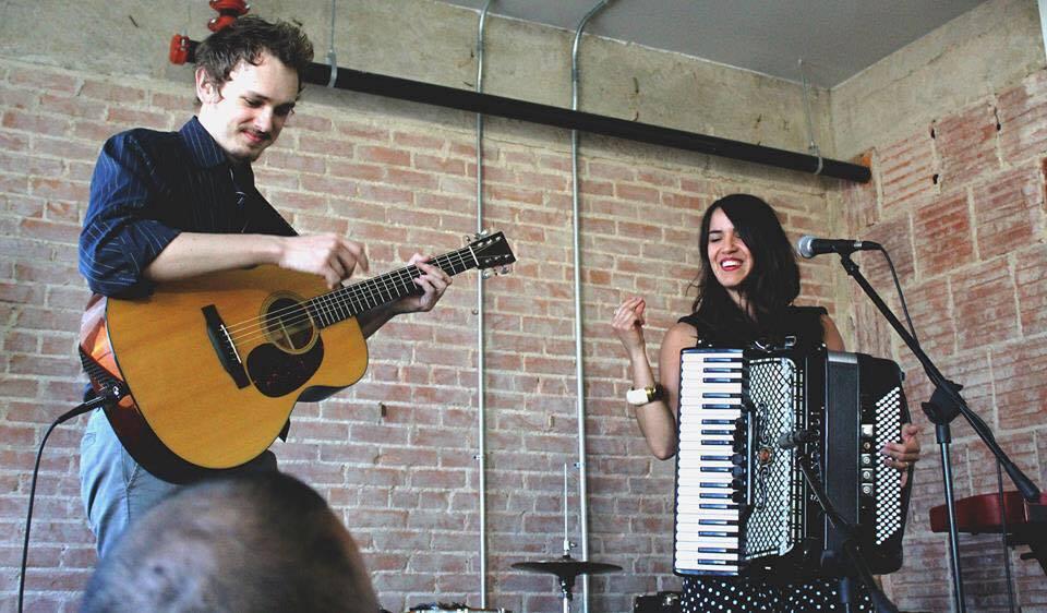 with Ginny Mac at Sofar Sounds Denton, TX