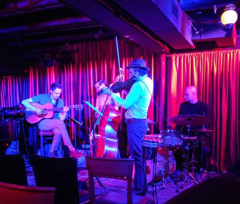 w/ Billy Contreras, Josh Hunt, & Jimmy Sullivan @ Rudy's Jazz Room in Nashville