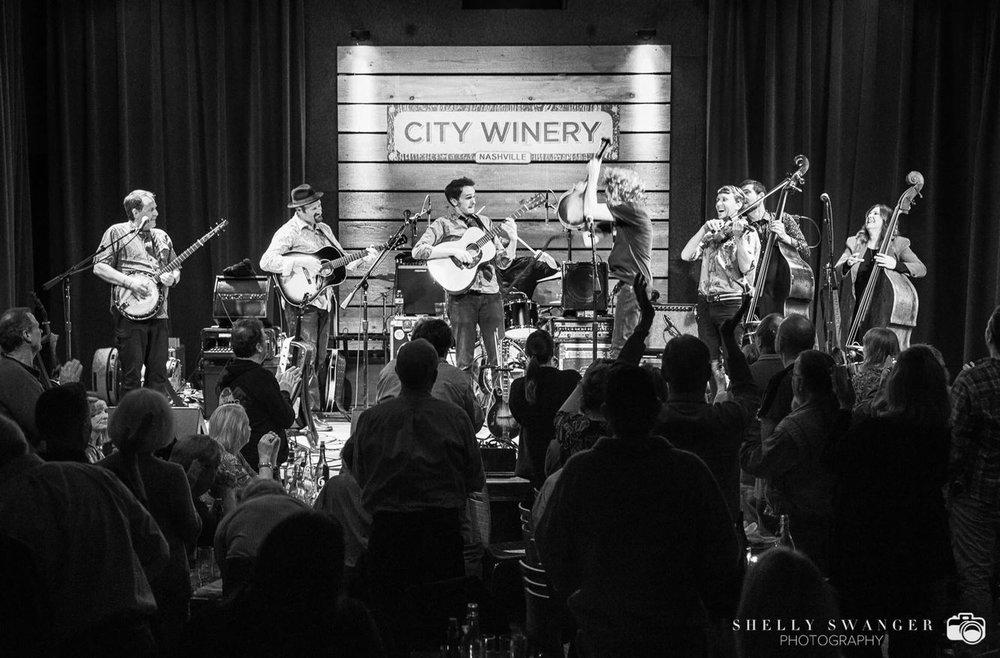 w/ Sam Bush Band & Missy Raines Trio @ City Winery in Nashville, TN