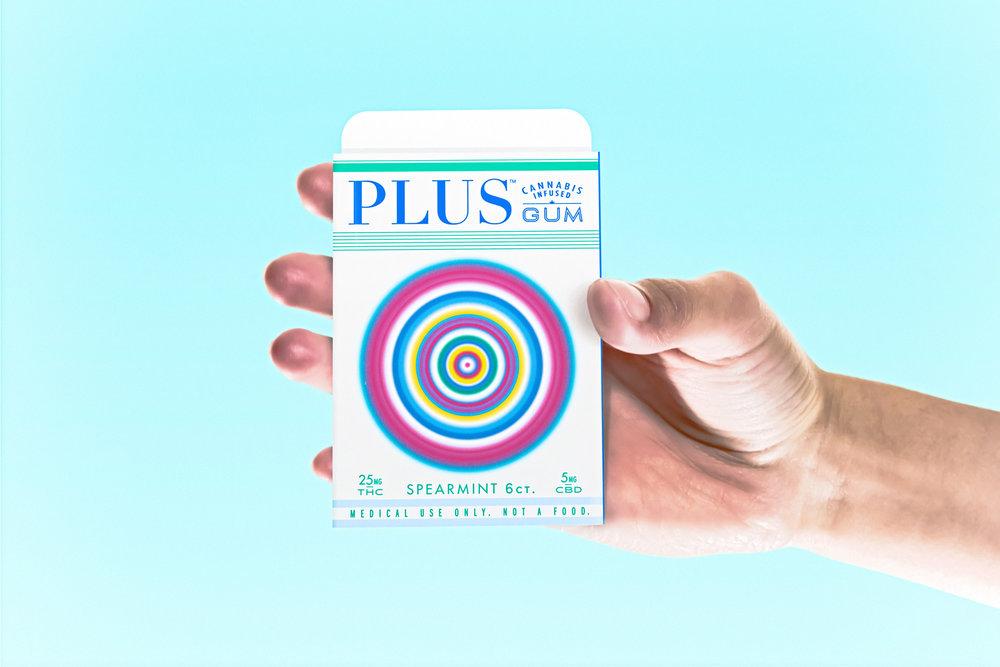 Plus Gum by Phillip Fivael