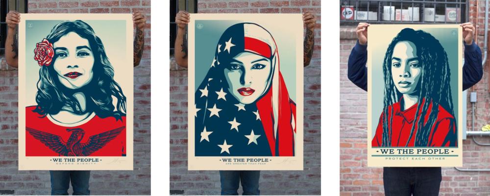 Shepard Fairey's Posters