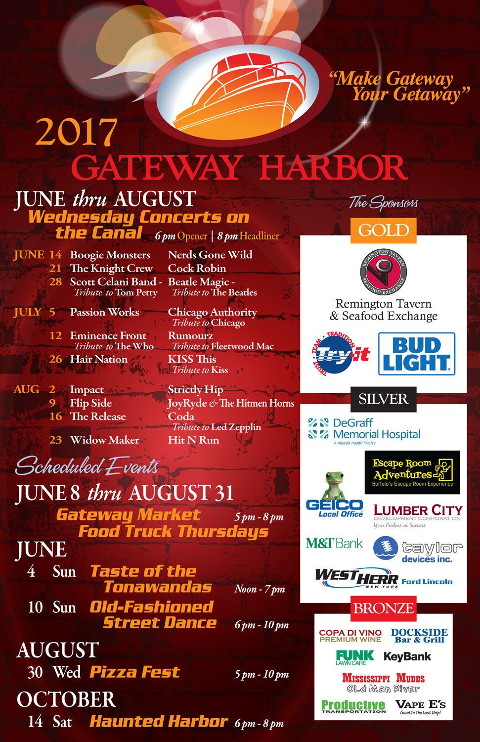 Wednesday Concerts on the Canal