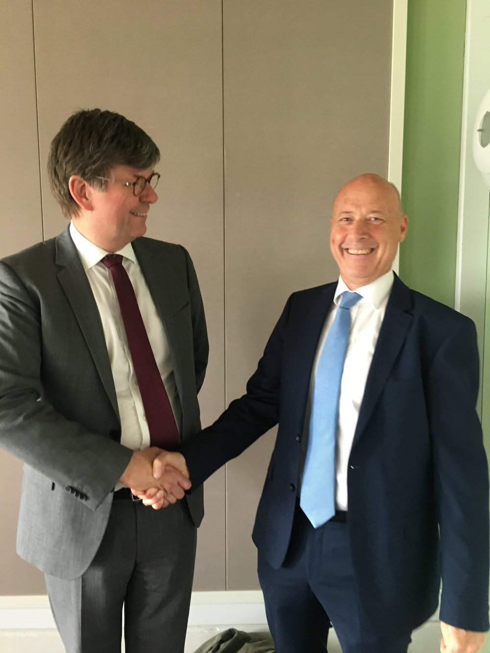 Michael Svane giver posten videre til TØFs nye formand Anders Hundahl
